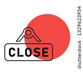 close icon   close sign vector...   Shutterstock .eps vector #1329623954