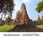 wat ratchaburana is a temple in ... | Shutterstock . vector #1329627101