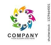 community care vector  people...   Shutterstock .eps vector #1329664001