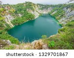 Scenery View Of Emerald Pond At ...