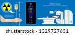 spect scan radiologist single... | Shutterstock .eps vector #1329727631