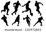 rugby | Shutterstock .eps vector #132972851