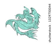 drawing sketch style... | Shutterstock .eps vector #1329750044