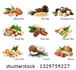 set of different delicious... | Shutterstock . vector #1329759227