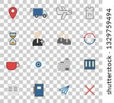 misc icons set simple flat...