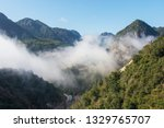 cloudy mountains china   Shutterstock . vector #1329765707