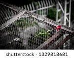 a very sad rose   Shutterstock . vector #1329818681