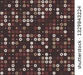 beautiful seamless geometric... | Shutterstock .eps vector #1329843224