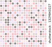 beautiful seamless geometric... | Shutterstock .eps vector #1329843227