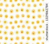 cute cartoon character sun... | Shutterstock .eps vector #1329862784