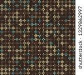 beautiful seamless geometric... | Shutterstock .eps vector #1329862997