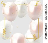 celebration design with baloon... | Shutterstock .eps vector #1329866327