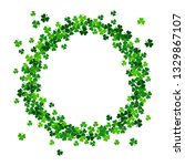 saint patrick's day frame with... | Shutterstock . vector #1329867107