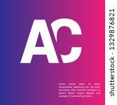 letter ac logo concept....