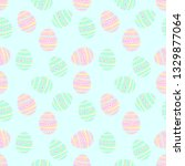 seamless pattern with cute... | Shutterstock .eps vector #1329877064