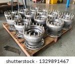 disassembled vertical pumps bowl   Shutterstock . vector #1329891467