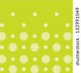vector green flower background. ... | Shutterstock .eps vector #132991049