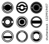 a vintage badge design set. | Shutterstock .eps vector #1329919457