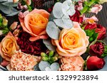 bright colorful bouquet of... | Shutterstock . vector #1329923894