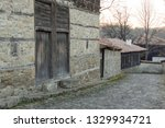 rural landscale  old typical... | Shutterstock . vector #1329934721