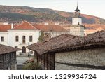 rural landscale  old typical... | Shutterstock . vector #1329934724