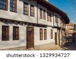 rural landscale  old typical... | Shutterstock . vector #1329934727