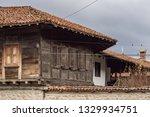 rural landscale  old typical... | Shutterstock . vector #1329934751