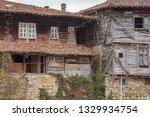rural landscale  abandoned old... | Shutterstock . vector #1329934754
