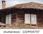 rural landscale  abandoned old... | Shutterstock . vector #1329934757