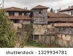 rural landscale  abandoned old... | Shutterstock . vector #1329934781