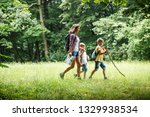 mother and her little sons... | Shutterstock . vector #1329938534