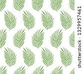 scandinavian seamless pattern...   Shutterstock .eps vector #1329957461