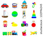 toys | Shutterstock . vector #132996245