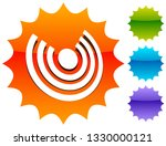 icon with concentric circles... | Shutterstock .eps vector #1330000121