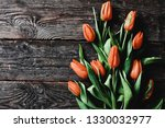 coral colour fresh beautiful... | Shutterstock . vector #1330032977