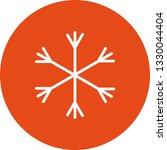 illustration snow  icon | Shutterstock . vector #1330044404