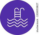 illustration swimming pool icon  | Shutterstock . vector #1330053827