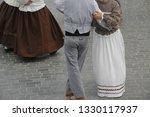 folk dance from portugal | Shutterstock . vector #1330117937