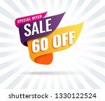super sale  mega. this weekend... | Shutterstock .eps vector #1330122524