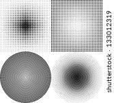 dot pattern white   Shutterstock .eps vector #133012319