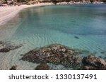 fetovaia beach in wintertime ...   Shutterstock . vector #1330137491