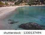 fetovaia beach in wintertime ...   Shutterstock . vector #1330137494