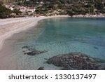 fetovaia beach in wintertime ...   Shutterstock . vector #1330137497