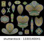 bright bohemian ethnic cliche...   Shutterstock .eps vector #1330140041