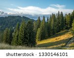 mountains in bavaria  german ... | Shutterstock . vector #1330146101