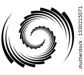 spiral  swirl  twirl abstract... | Shutterstock .eps vector #1330215071