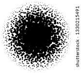 circle half tone element over... | Shutterstock .eps vector #1330215491