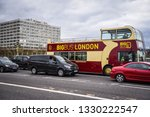 bus in london for driving... | Shutterstock . vector #1330222547