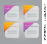 infographic banners. colorful...   Shutterstock .eps vector #1330258514