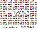 collection of flags from all... | Shutterstock .eps vector #1330280441
